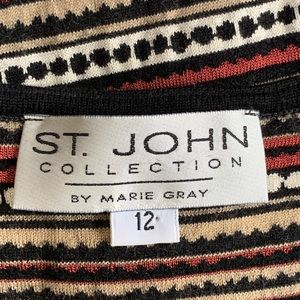 St. John Collection by Marie Gray Maxi Dress 12